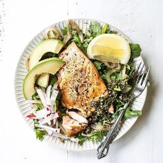 www.sizzlefish.com  Self-love is a beautiful and healthy Sizzlefish Coho Salmon salad. via @thefeistykitchen _ Head to our website: www.sizzlefish.com to order your perfectly portioned fish and shellfish today! Don't forget! Free shipping on all order