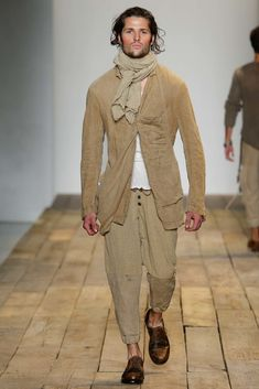 See all the Collection photos from Greg Lauren Spring/Summer 2016 Menswear now on British Vogue Urban Fashion, Mens Fashion, Male Fashion Trends, Sharp Dressed Man, Spring Summer 2016, Fashion Show, Fashion Design, Couture, New York Fashion