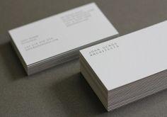 John Demos Architects - Business Card Design Inspiration   Card Nerd