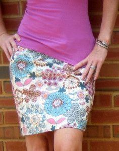 Simple 15 Minute Skirt | AllFreeSewing.com