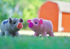 FurlsCrochet | May Amigurumi CAL Mini Pigs Week One