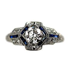 Diamond Engagement Ring with Flower Motif, RG-2808o
