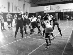 Warsaw Hellcats vs Hard Breaking Dolls Roller Derby Scrimmage