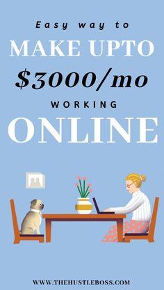 Make Easy Money, Make Money From Home, Make Money Online, Work From Home Careers, Online Work From Home, Home Binder, Online Business Opportunities, Pinterest Crafts, Craft Online