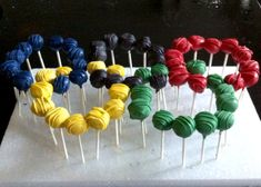 My Olympic Ring cookie dough pops