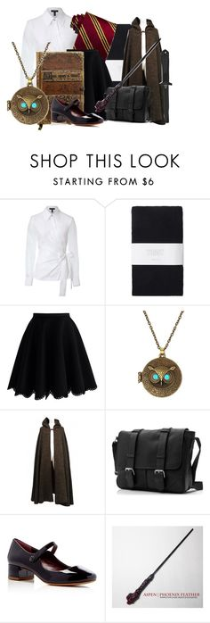 """""""Hogwarts uniform - Nora"""" by twilightphonix on Polyvore featuring ESCADA, Toast, Chicwish, Yves Saint Laurent, 5.11 Tactical and Marc Jacobs"""