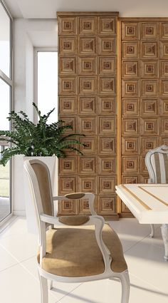 Italy Classic panels are designed by Juanny Barcelò Borges from Ravenna, Italy. The motifs of the ceiling coffers intertwined in these panels. #woodenpanels #woodendecor #interiordesign #panelling #woodpanelling #walldecor #wallpanels #designlovers #walldesign #дизайнинтерьеракиев #дизайнинтерьераукраина #sustainabledesign #walldesign #furnituredesign #дерев'яніпанелі #дерев'янаобробка #дизайнінтер'єра #перегородки #деревянныеперегородки