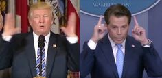 Scaramucci Matches Trump So Perfectly People Think He's Mini Me