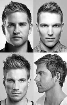 Men's short haircuts - i wish I didnt have thick hair so I could pull these looks off :/
