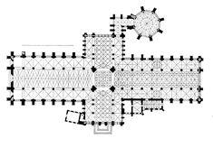 Catedral de York. Planta de tipo cruciforme.