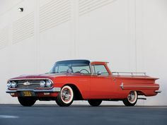 1960 Chevrolet El Camino wallpaper