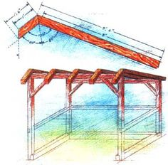 images about Do It Yourself on Pinterest   Mother Earth    Build a sturdy woodshed that will keep firewood stacked  dry and ready for use  Includes materials list  plan  and building instructions