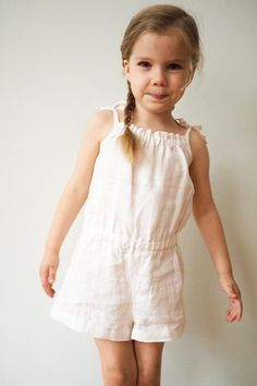 Purl Bee summer romper free pattern