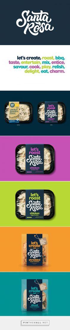 Santa Rosa meat label redesign by Dow Design (New Zealand) - http://www.packagingoftheworld.com/2016/09/santa-rosa.html