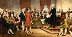 """It should bewell-known that the Founding Fathers, as well as most early Americans, were fond of a drink. It wasn't uncommon for citizens to start their day with a quart of hard cider andBenjamin Franklin himself noted some of his employees would take a pint in between each meal. He would later record more than 200 synonyms for """"drunk.   #4thofjuly #beer #drinking #whiskey #wine"""