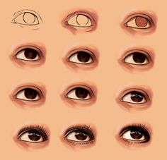 Amazing Learn To Draw Eyes Ideas. Astounding Learn To Draw Eyes Ideas. Digital Art Tutorial, Digital Painting Tutorials, Art Tutorials, Ideas Collage, Digital Draw, Sketch Manga, Deviantart Drawings, Eye Anatomy, Anna Cattish