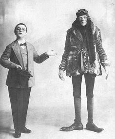 Berlin, Gastspiel Karl Valentin und Liesl Karlstadt in der Wilden Bühne, ca 1924