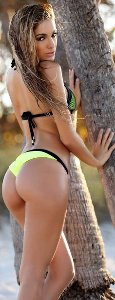 Hot model bikini and nice