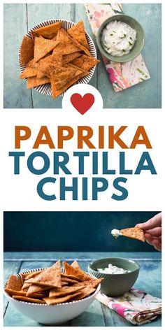 Easy Paprika Tortilla Chips