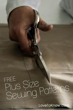 Check out the plethora of free plus size sewing patterns available online…