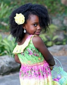 BeauTIFFul Curls strives to inspire & uplift women with natural hair by promoting beautiful kinky/curly hair. African Natural Hairstyles, Natural Hairstyles For Kids, Ethnic Hairstyles, Little Girl Hairstyles, Afro Hairstyles, Beautiful Little Girls, Beautiful Children, Beautiful Babies, Curly Hair Styles