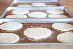 """Last week, I decided to make Pita Bread.It's a first for me, but seemed pretty darn simple.In case you don't know what Pita or Pitta is . . . it's a round pocket bread.The """"pocket"""" in pita bread is created by steam, which puffs up the dough. As the bread cools and flattens, a pocket is left…"""