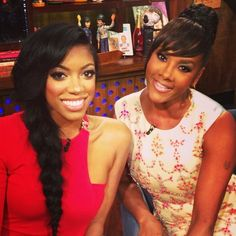 """Porsha Stewart Hits Up Andy Cohen's """"Watch What Happens Live"""" With Vivica A. Fox (PHOTOS)"""