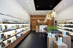 Niche Modern Pendant Lights at an Aveda Store