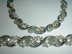 vintage trifari necklace set by fadedglitter42263 on Etsy, $375.00