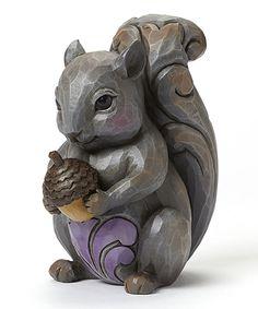Look at this #zulilyfind! Jim Shore Woodland Squirrel Figurine by Jim Shore #zulilyfinds