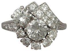'2.67 ct Diamond, Platinum Cluster Ring - Vintage' http://www.acsilver.co.uk/shop/pc/2-67-ct-Diamond-Platinum-Cluster-Ring-Vintage-Circa-1950-35p9081.htm