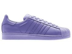 """Adidas x Pharrell Williams Superstar """"Supercolor Pack"""" Chaussures Pas Cher Pour Homme Ray Violet S83392"""