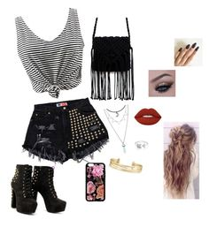 """shoping"" by dani-granco on Polyvore featuring moda, Stella & Dot, EF Collection e Lime Crime"
