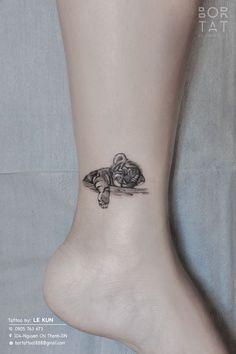 Small tiger tattoo – tattoos for women small Rib Tattoos Words, Arm Quote Tattoos, Baby Tattoos, Mini Tattoos, Tattoo Fonts, Couple Tattoos, Body Art Tattoos, Small Tattoos, Tattoos For Guys