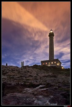 "Faro Cabo de palos ""Jugando con Photoshop"" (Spain) by XavierSam, via Flickr"