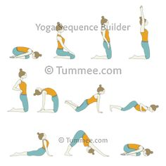 Plan your yoga sequences for all levels of students with variations of Seated Sun Salutation (Upavistha Surya Namaskar). Discover variations of more yoga poses to teach in your yoga classes! Sun Salutation Sequence, Yoga Flow Sequence, Yoga Sequences, Sitting Yoga Poses, Cool Yoga Poses, Surya Namaskar Benefits, Warm Up Yoga, Patanjali Yoga, Cat Cow Pose
