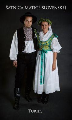 Kostýmy a kroje – Matica slovenská Folk Clothing, Traditional Dresses, Sari, Costumes, Clothes, Slovenia, Homeland, Art Reference, Embroidery