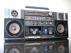 new vintage boombox | JVC PC 200C Vintage Boombox in Excellent Condition RARE Collectible ...