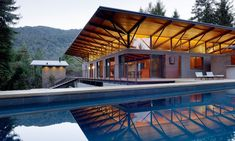 Sonoma Mountain House was designed by Nielsen Schuh Architects and is located in Sonoma, California.