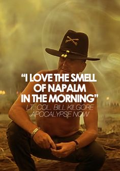"Apocalypse Now [1979]    Heart of Darkness/Apocalypse now... ""never get out of the boat"".... awesome."