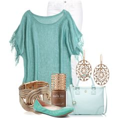 """White Washed"" by ljjenness on Polyvore"