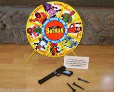 Mettoy 1966 Vintage Batman Target Game N Mint Original Tin Litho Large 17   eBay