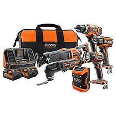 Cordless Combo Kit with Batteries Woodworking Tools, Kit, Stuff To Buy, Shopping, Shop Ideas, Milwaukee, Canada, Trucks, Storage
