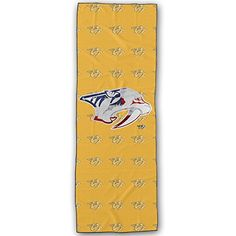 Nashville Predators Platinum Logo Yoga Mat Towel >>> Details can be found by clicking on the image.  This link participates in Amazon Service LLC Associates Program, a program designed to let participant earn advertising fees by advertising and linking to Amazon.com.