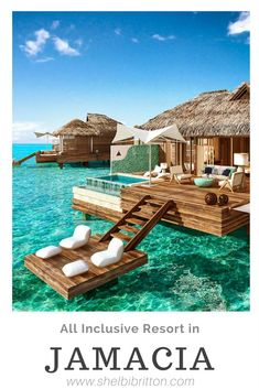 All Inclusive luxury resort in the Caribbean Perfect for dreamy honeymoons and romantic getaways Jamaica St Lucia Barbados Grenada Antigua Bahamas over the water bungalows butler suites ocean view tropical honeymoon island honeymoon affliate link Best Island Vacation, Dream Vacation Spots, Vacation Places, Vacation Destinations, Dream Vacations, Honeymoon Places, Vacation Villas, Holiday Destinations, Bahamas Honeymoon