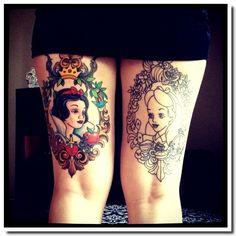 Le tatouage cadre et miroir. - Be BaRock