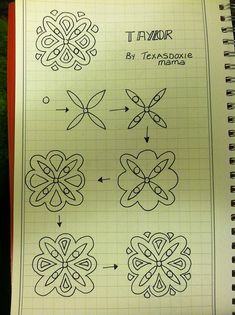 Great site for pretty doodles! I loooove doodles!