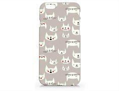 N725 Cat phone case for iphone 4/5/5C/6/6plus from Emerishop by DaWanda.com