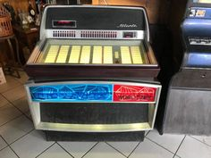 JUKEBOX WURLITZER ATLANTA #vintage #vintagestyle #jukebox #music #dance #audio #homedecor #home #crazy #love #beauty Atlanta, Audio, Jukebox, Vintage, Dance, Home Decor, Beauty, Dancing, Decoration Home