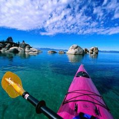 Things to do this summer: go kayaking